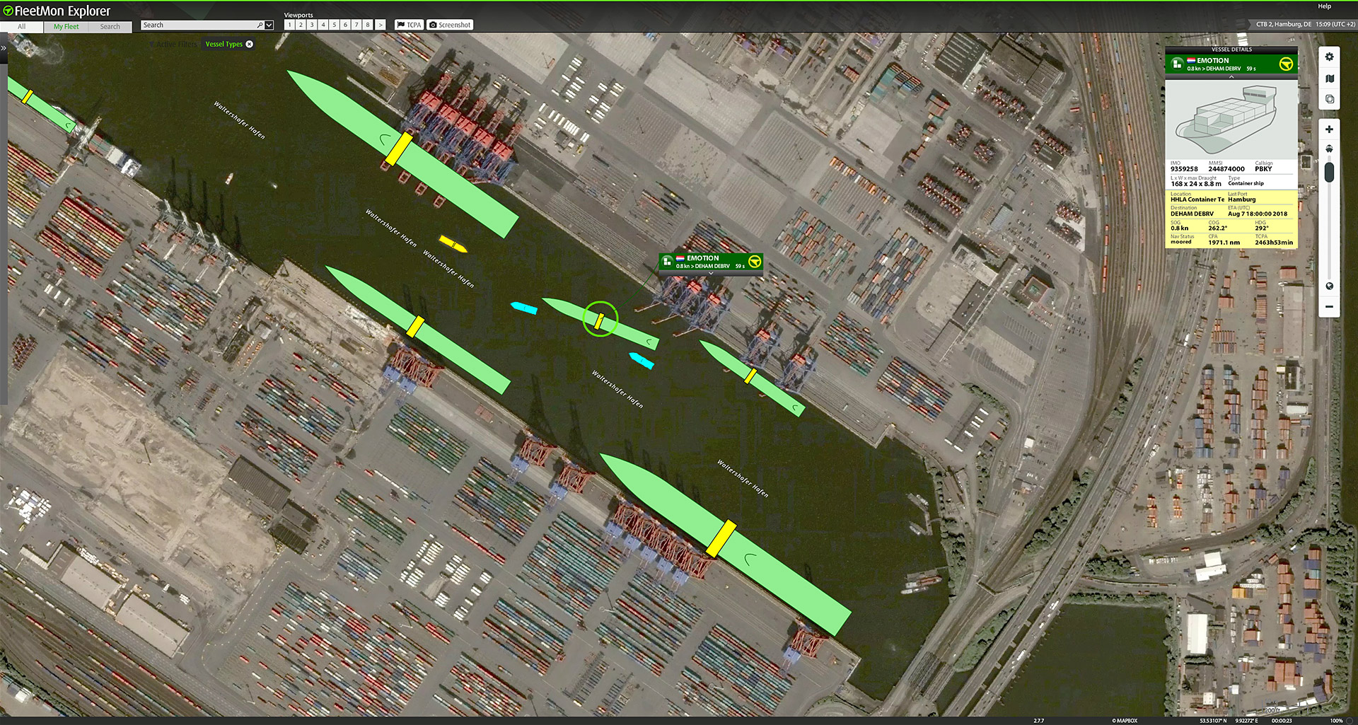 Live vessel tracking and monitoring with FleetMon Explorer on