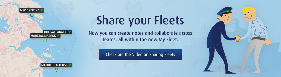 My Fleet Sharing - Now you can create notes and collaborate across teams, all within the new My Fleet.