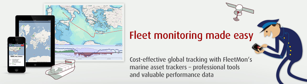 FleetMon Satellite Tracking - innovative fleet monitoring service