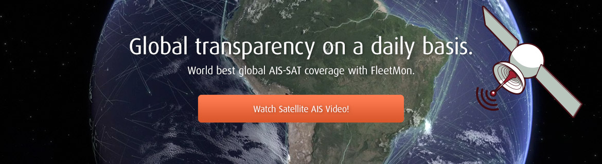 World best global AIS-SAT civerage