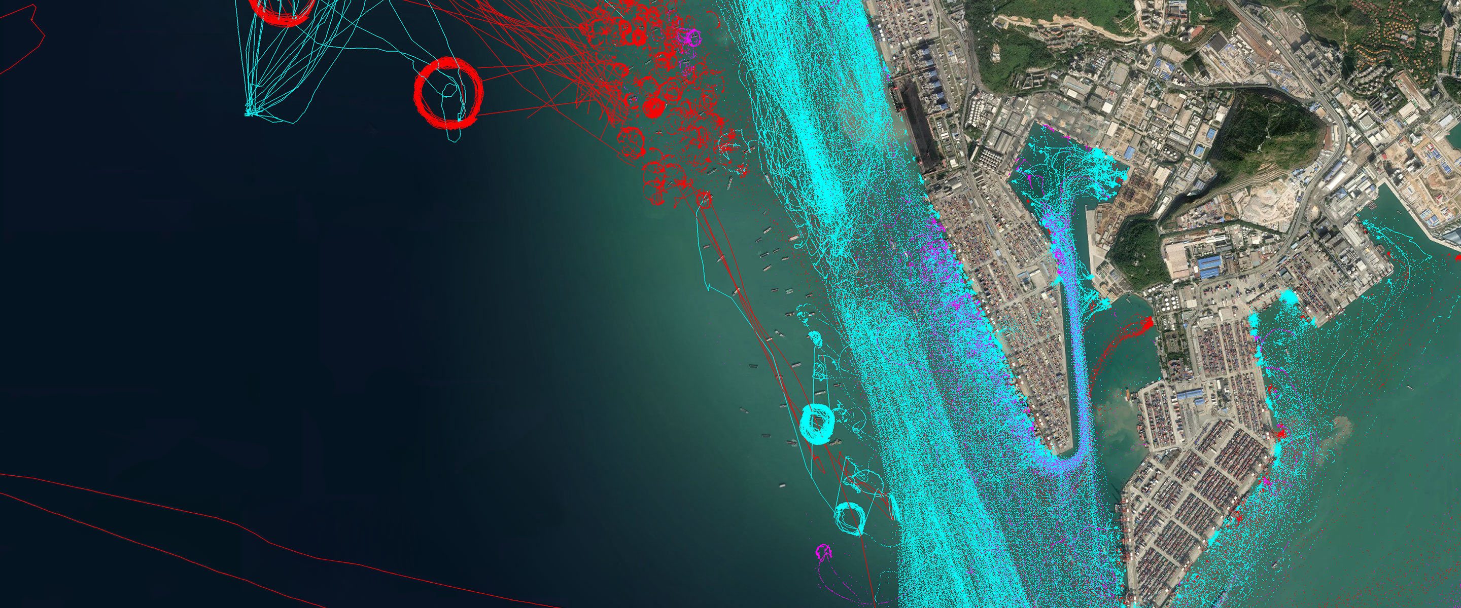 Live AIS Vessel Tracker with Ship and Port Database