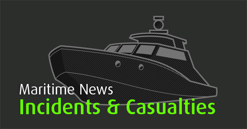 ​  General cargo vessel ZELENGA allided with Canal's gates, Volga