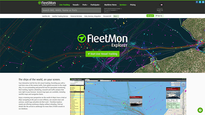 FleetMon Website